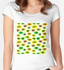 eyes motive Women's Fitted Scoop T-Shirt