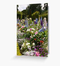 Flowers in Versailles Greeting Card
