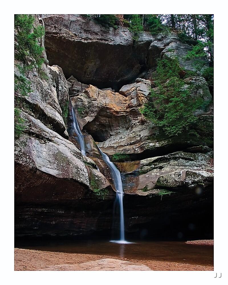 Majestic Cedar Falls by J J