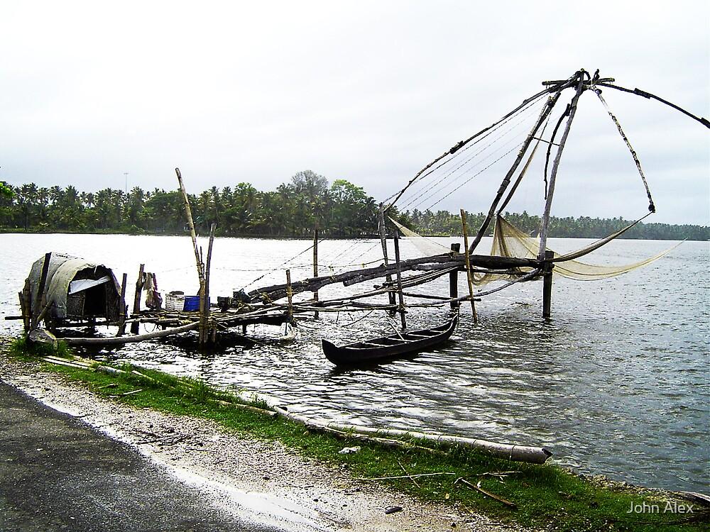 Lake of kerala by John Alex