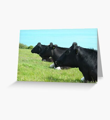 Milk Trio Greeting Card