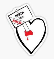 Perth Sold Sticker
