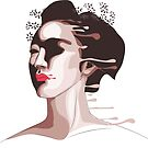 The Painted Geisha by JBurkeDigital