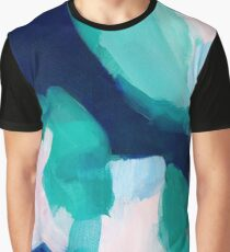 Lakeside abstract Graphic T-Shirt
