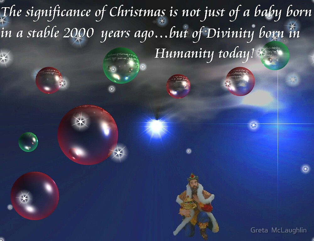 Merry Christmas To All by Greta  McLaughlin