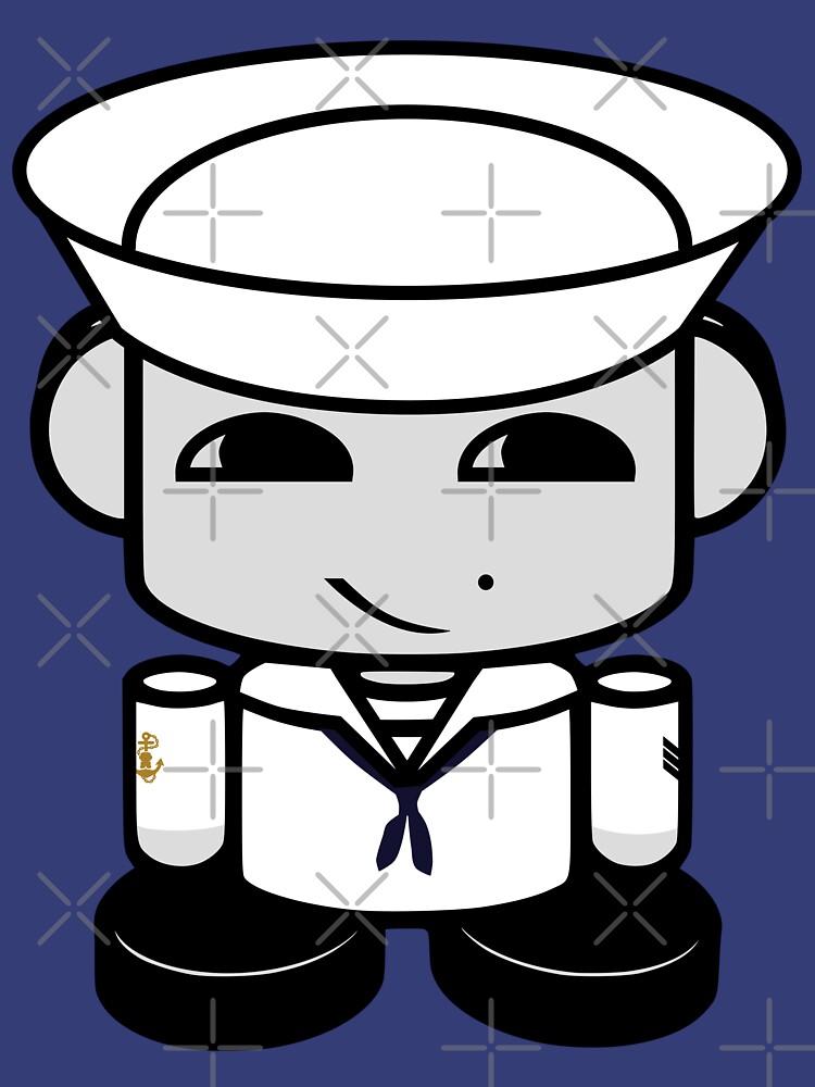 Sailor HERO'BOT Toy Robot 1.0 by carbonfibreme