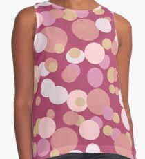 Bubbles in Pink Contrast Tank