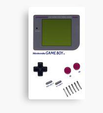Classic Game Boy Canvas Print