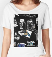 Many Cameras Women's Relaxed Fit T-Shirt