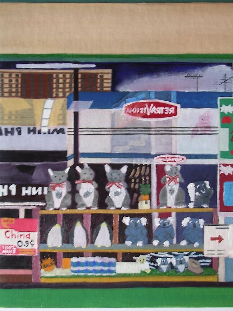 Shop Window Reflections by Joan Wild