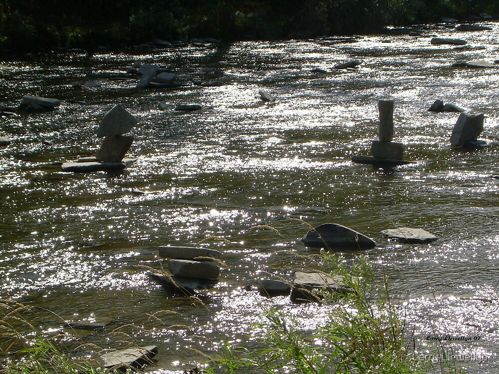 The Humber River with some Little Additions by Larry Llewellyn