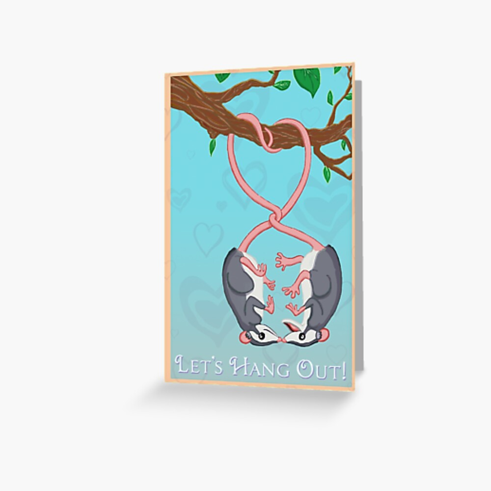 Let's Hang Out! Greeting Card
