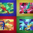Lizard Dance by Janette  Dengo