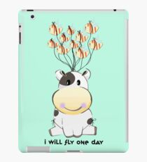 Cow will fly iPad Case/Skin