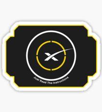 SpaceX Drone Ship  Sticker