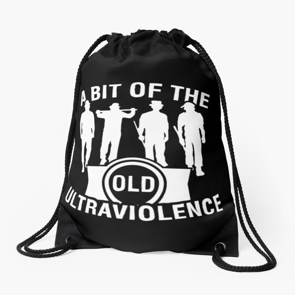 Ultraviolence Drawstring Bag