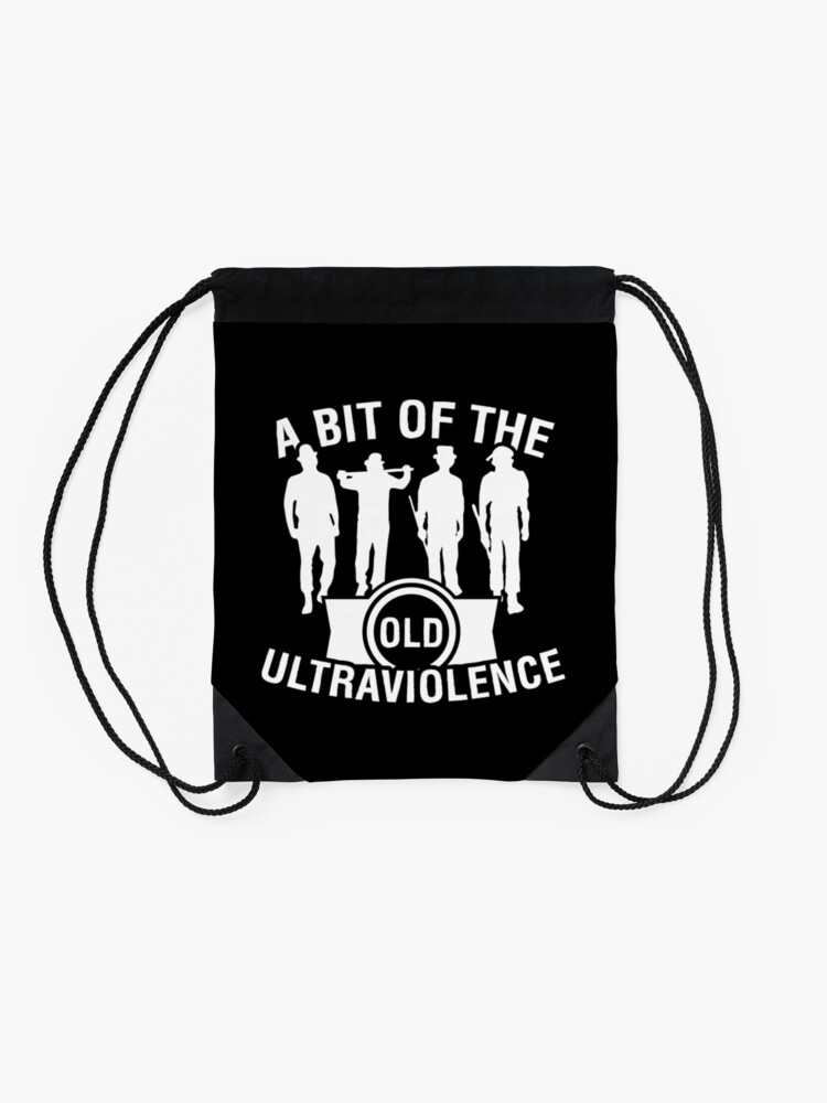 Alternate view of Ultraviolence Drawstring Bag