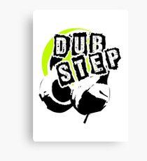Dub Step Point (with headphones) Canvas Print
