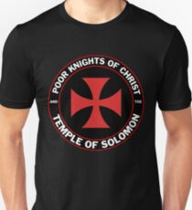 Poor Knights of Christ and the Temple of Solomon Unisex T-Shirt