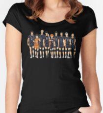 Team Karasuno Women's Fitted Scoop T-Shirt
