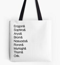 Character List Eragon Tote Bag