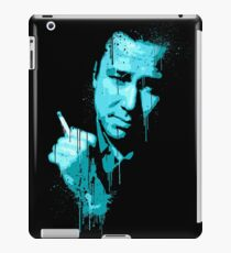 Bill Hicks (blue) iPad Case/Skin
