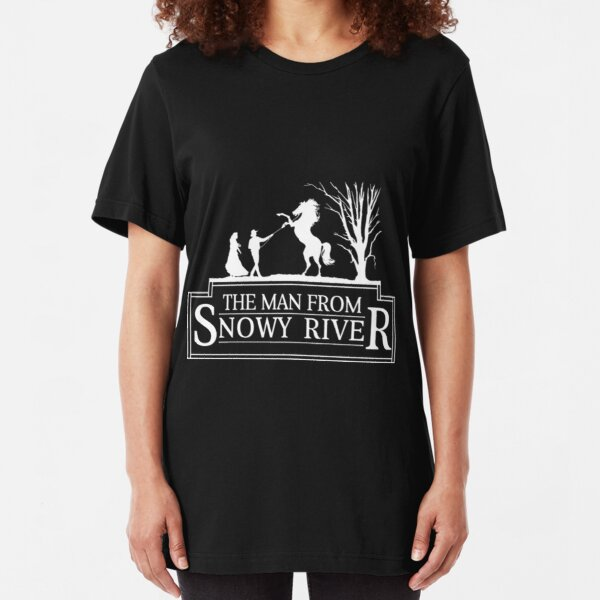 The Man from Snowy River Slim Fit T-Shirt