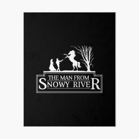 The Man from Snowy River Art Board Print