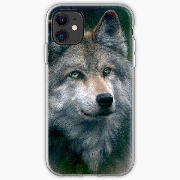 Grey Wolf iPhone Soft Case