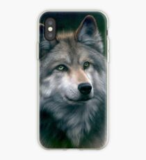 Grey Wolf iPhone-Hülle & Cover