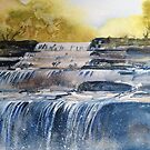 Aysgarth Falls by Val Spayne