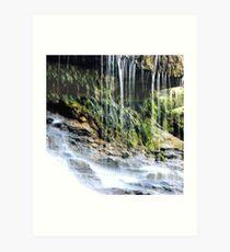 Weeping Rock Art Print