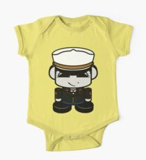 HERO'BOT Mariner Ophia May Short Sleeve Baby One-Piece