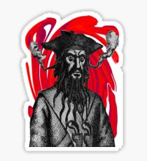 Blackbeard Madness Sticker