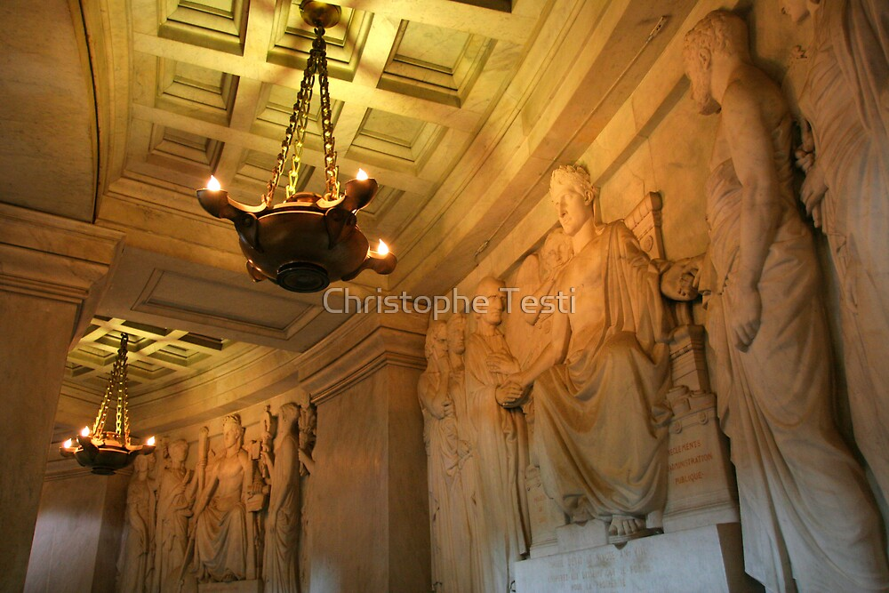 Crypt at Hotel Des Invalides by Christophe Testi