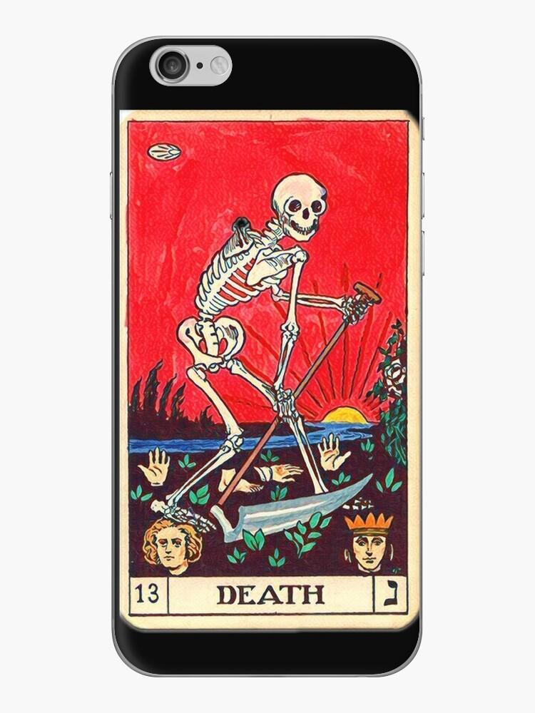 """«""""Muerte"""", Tarot Card iPhone 6 Case» de seuril"""