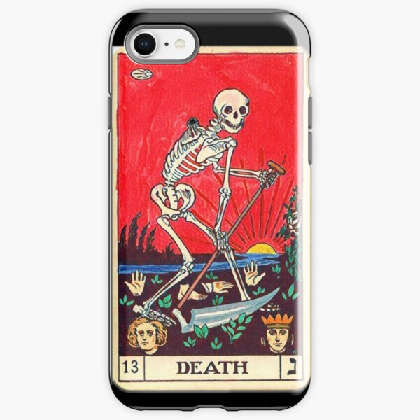 """Death"", Tarot Card iPhone 6 Phone Case iPhone Tough Case"