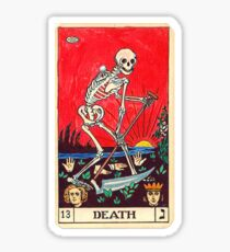"""Death"", Tarot Card Sticker Sticker"