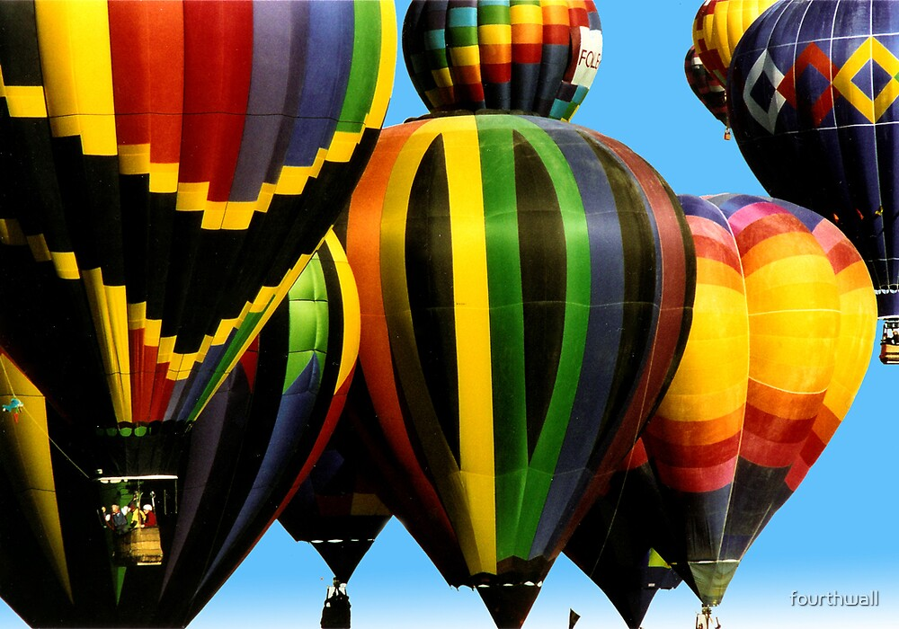 Hot Air Balloons, Albuquerque by fourthwall