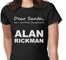 Dear Santa3 Womens Fitted T-Shirt