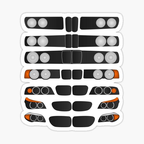 Evolution of the 5 Sticker