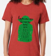 Luminous Beings Tri-blend T-Shirt