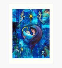 The Heart of Christmas Art Print