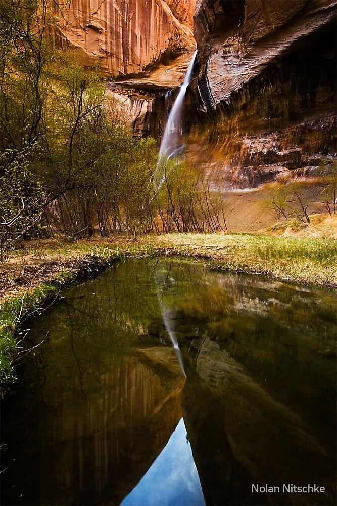 Lower Calf Creek Falls by Nolan Nitschke