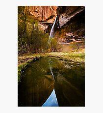 Lower Calf Creek Falls Photographic Print
