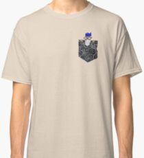 Runescape Wise Old Man in Pocket Classic T-Shirt