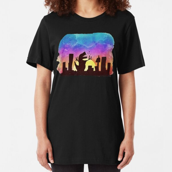 The beauty of a sunset Slim Fit T-Shirt