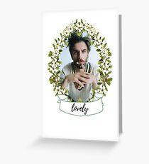 Lovely Dan Greeting Card