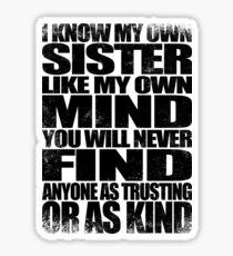 My Sister Sticker