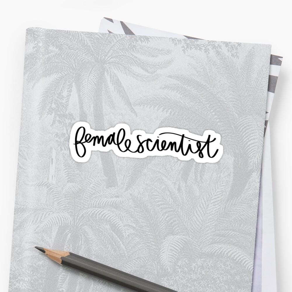 Female Scientist by jessicadnguyen